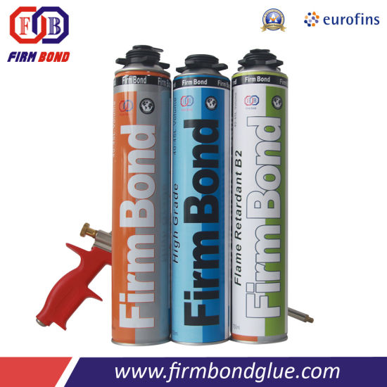 One Component Fire Resistance Insulation PU Foam pictures & photos