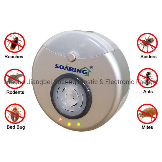 Ultrasonic and Electromagnetic Pest Repeller Pest Reject (New)