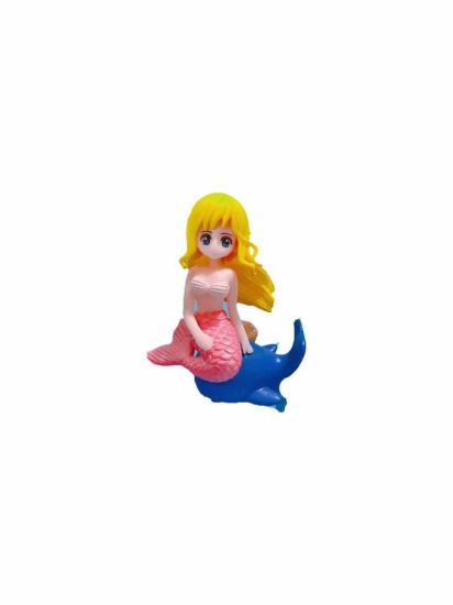 Polyresin Sculpture Children Toys Gifts Mini Mermaid Figures Garden Decoration Resin Craft