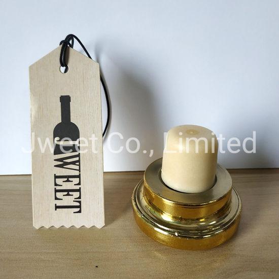 Custom T Shape Plastic Synthetic Cork for Spirit Wine Bottle