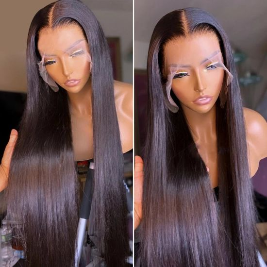 Transparent HD Cheap Brazilian Virgin Hair Lace Wigs Wholesale Lace Front Wig Human Hair China Full Lace Human Hair Wigs for Black Women