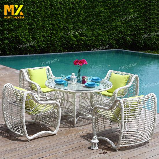 New Arrive Handmake Rattan Weace Outdoor Garden Furniture Sofa with Bright Color