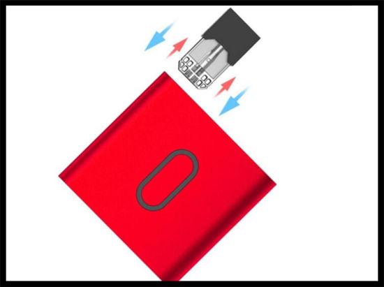 E Cigarette Starter Kit Preheat VV Mod Electronic Cigarette Closed Pod Pen Vaporizer Mod Thc/Cbd Oil Smoking Pod Mod for Juul Pods Cartridges Vaporizer