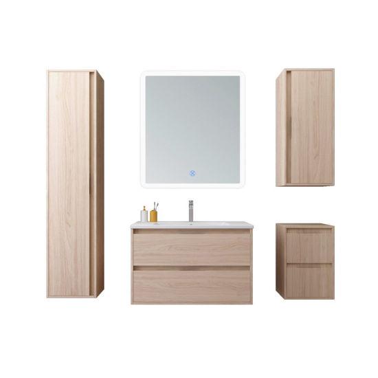 Deluxe Eurpean Style Bathoom Vanities with 3 Side Cabinets