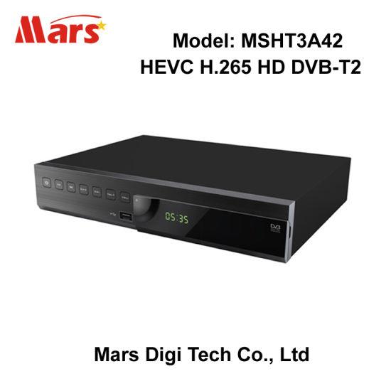 China Montage 8051 HD H 264 MPEG-4 Hevc H 265 DVB-T2