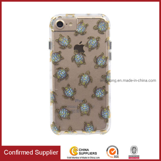 2in1 Combo Cell Phone Case Water Transfer Printed Phone Cover