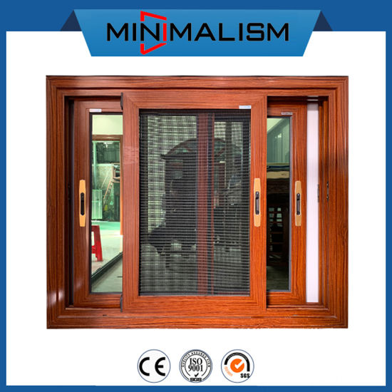 New Series Aluminium Sliding Window with 5mm Green Refelective Glass