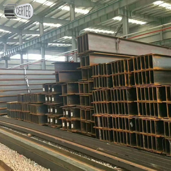 Warehouse/Factory Girder High Quality 12m Steel Structure H Beam HEA HEB IPE