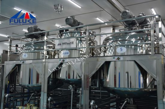 Liquid Soap Blending System Blending Mixer Mixing Equipment in China