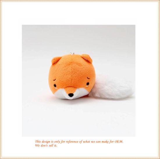 Fluffy Fox Key Finder Stuffed Animal Toys for Kids