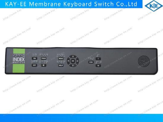 Custom 3m Adhesive Keyboard Lexan Membrane Switch Keypad