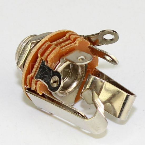 New improved quality item! Mono 1//4 Inch Jack Socket For Guitar Pedal etc