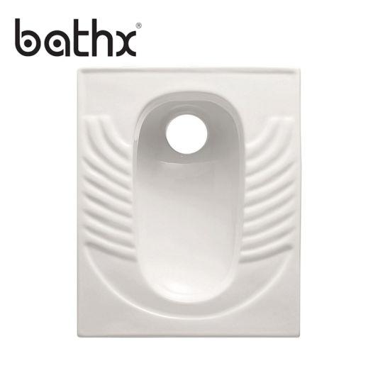 High Cost-Effective Sanitary Ware Water Closet Porcelain Squatting Squat Toilet (PL-P310)