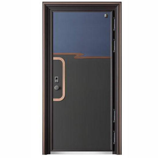 China Luxury Cast Aluminum Doors Villa