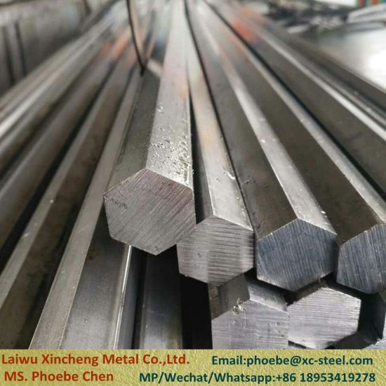 Free Cutting Steel Hex Bar with Grade 12L14 / Sum23