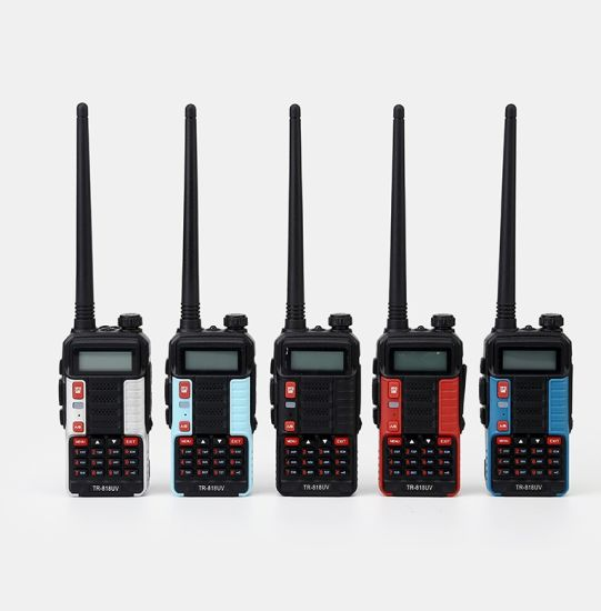 Cheap Dual Band Ham Radio UHF/VHF Tr-818UV Walkie Talkie Supporing Android USB Charger pictures & photos