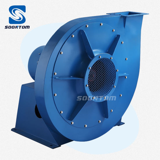 Industrial High Pressure Fan Centrifugal Exhaustor Exhaust Blower for Boiler