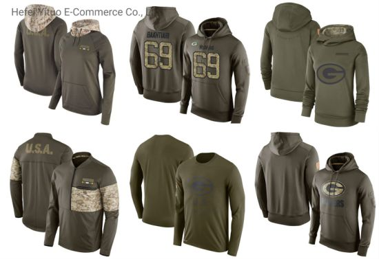 Sublimate Printed Warm Men's Women's Olive Pullover Hoodies Apparel
