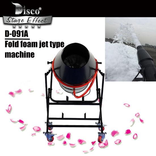 Stage Effect 900W Folding Foam Cannon spray Machine for Party