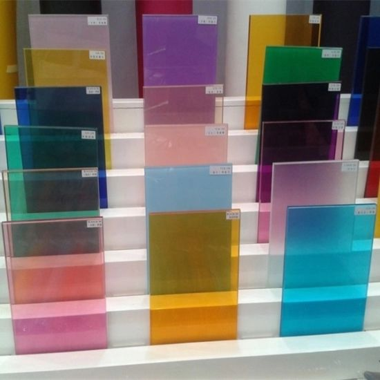 6.38mm PVB Clear Flat or Curved Toughened Laminated Glass