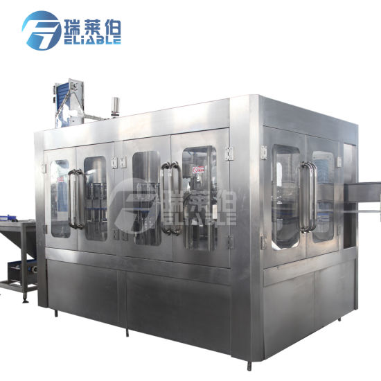 Automatic 3 in 1 Drinking Mineral Water Filling Bottling Machine