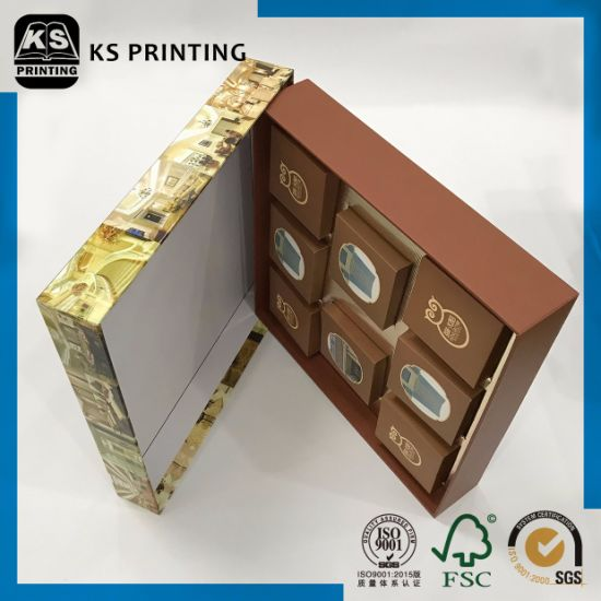 Bottom and Lid Four Color Printing Food Gift Packaging Box