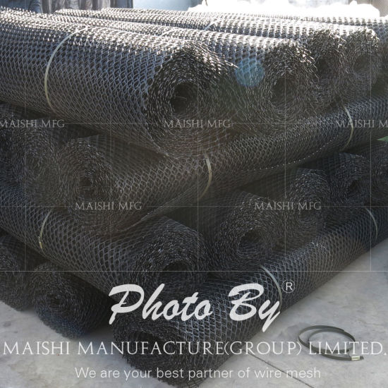 Rockguard Pipeline Protection Mesh HDPE Mesh pictures & photos