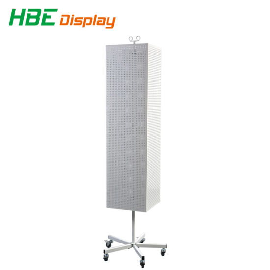 4 Sided Rotating Grid Mesh Floor Stands pictures & photos