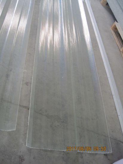 China Rib Type Fiberglass Corrugated Roof Sheets Plastic