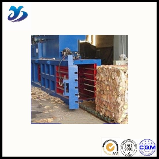 Save Manpower Hydraulic Horizontal Baler for Sugarcane Stalk pictures & photos