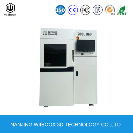 Wiiboox 3DSL360 Best Price Rapid Prototyping 3D Printing Machine SLA 3D Printer pictures & photos
