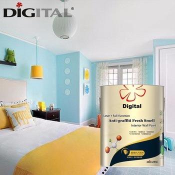 Digital Color Anti Graffiti Fresh Smell Interior Wall Coating