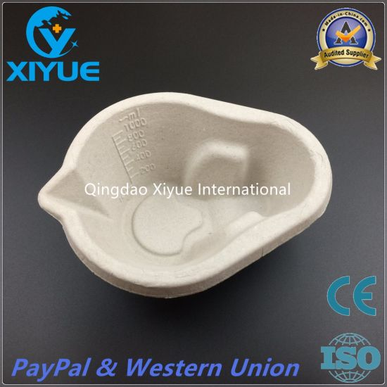Medical Disposable Paper Pulp Measurng Jug with High Quality