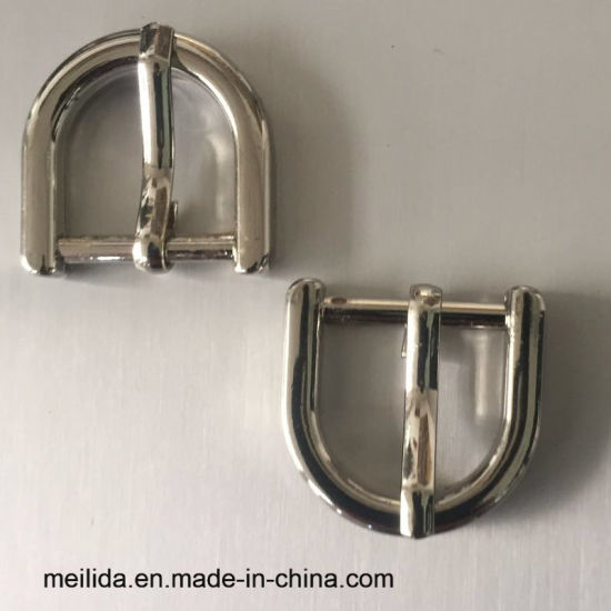 High Quality D Ring Shape Sliver Metal Buckles Pin Belt