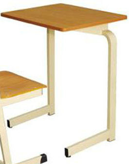 Chinese Wooden Single Student Desk and Chair/School Furniture (FS-3215) pictures & photos