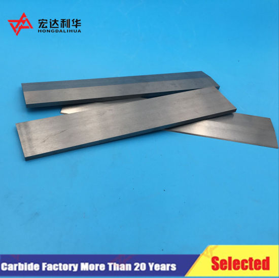 High Quality Tungsten Carbide Strips Bars in Zhuzhou pictures & photos