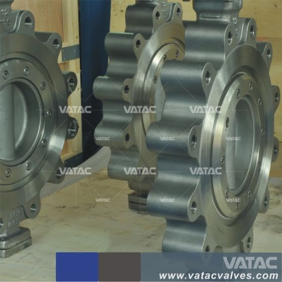 API 609 Lug Type Stainless Steel A351 CF8m Butterfly Valve pictures & photos