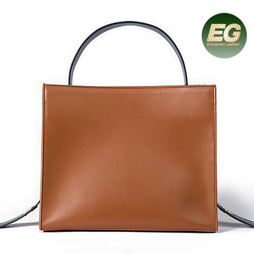 New Arrival Original Leather Hand Bags Ladies Cow Leather Bag Emg5336