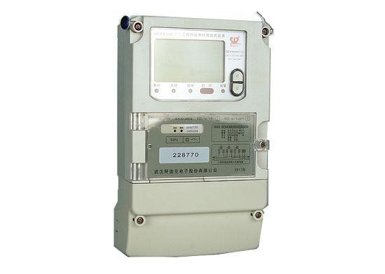 Three Phase Four Wire Load Control Smart Electric Meter with Relay