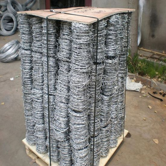 Galvanized Iron Barbed Wire for Fence pictures & photos
