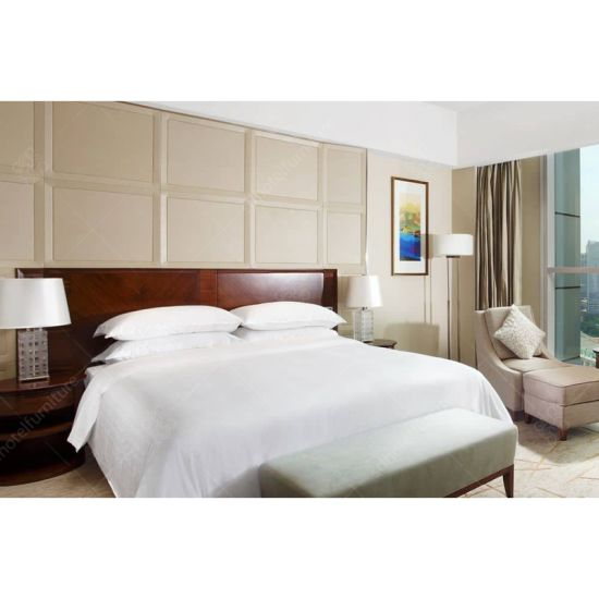 India Modern Style Hotel Bed Room Furniture For
