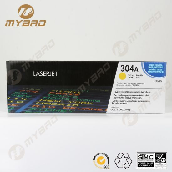 High Quality Compatible Cc530A 304A Color Toner Cartridge for Cp2025