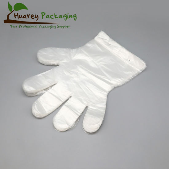 Clear PE Disposable Plastic Gloves/Aprons