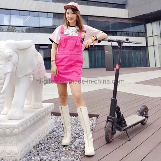 2020 China Factory New Personal Transporter Pneumatic Tire Kick Scooter with SGS