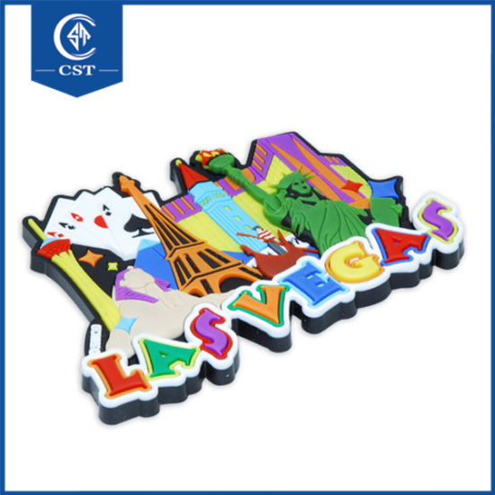 Soft Pvc Rubber Personalized Printed Fridge Magnets Custom Sticker