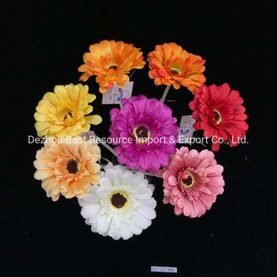China Wholesale Silk Gerbera Daisies Artificial Gerbera Flower For