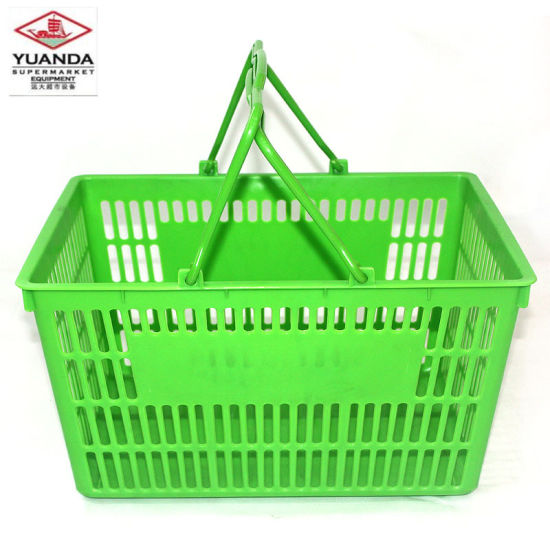 Professional China Supplier Supermarket Collapsible Shopping Basket