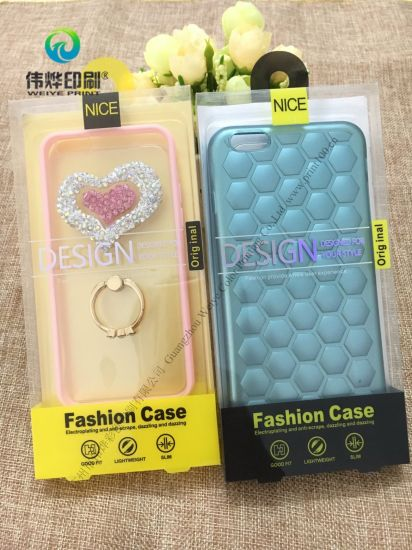 Custom Homemade Cell Phone Case Retail Blister Packaging pictures & photos