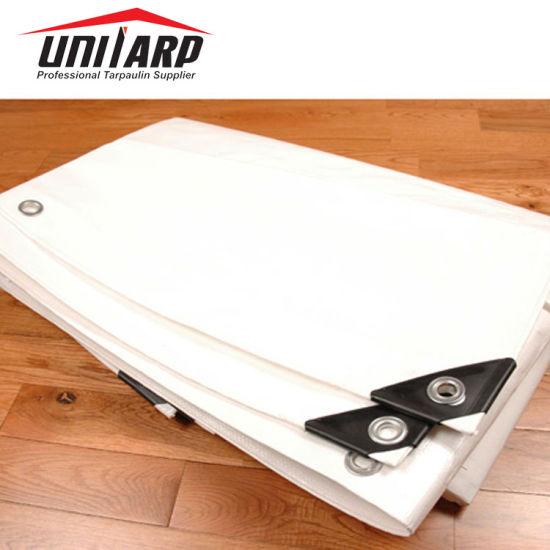 China Hot Sale Customized Size Waterproof Anti-UV PVC Coated Tarpaulin Sheet