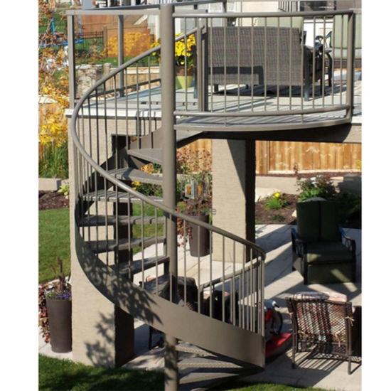 Modern Elegant DIY Circular Stairs / Outdoor Staircase / Spiral Stairs